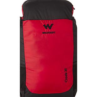 Wildcraft Rucksack For Trekking Creek 35L - Red