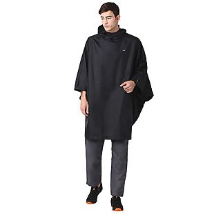 Wildcraft Hypadry Plus Unisex Rain Poncho - Black