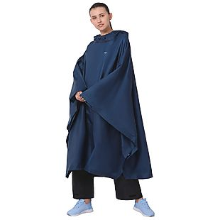 Wildcraft Hypadry Plus Unisex Rain Poncho - Navy