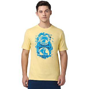 Wildcraft Men Printed Human Spirit Crew Neck T-shirt