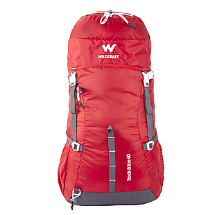 Wildcraft Rucksack For Trekking  Rock & Ice 40L - Red