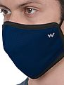 Wildcraft SUPERMASK W95 Plus Reusable Outdoor Respirator - POPCORN BLUE- Pack of 5