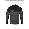 Wildcraft Men Acrylic Hooded Sweatshirt With Zipper - Black