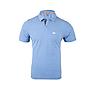 Wildcraft Men Slub Polo T Shirt - Blue Melange
