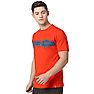 Wildcraft Men Printed T-Shirt - Orange